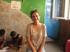Allein reisende Frauen in Indien - Doris