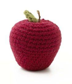 Amigurumi Apple Pattern (Crochet)