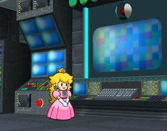 Tech is the best! Paper Peach is cute too. Love this game. Super Mario Art, Super Mario World, Paper Mario, Only Play, A Thousand Years, Mario Bros, Best Games, Arcade Games, Cube