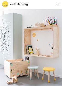 Ideas modern kids room decor playrooms for 2019 Kids Corner, Art Corner, Play Corner, Kids Bedroom, Bedroom Decor, Room Kids, Kids Rooms Decor, Modern Kids Decor, Playroom Ideas