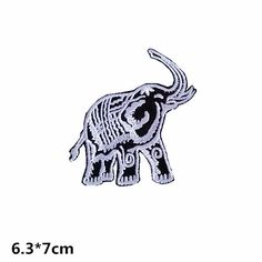 cute elephant patch animal patch embroidered patch iron on patches iron on patch sew on patch
