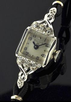 Vintage & Antique Ladies Watches @ WatchesToBuy.com--I am loving these smaller, daintier watches.
