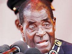 President Mugabe Wets Himself During SADC Troika Summit  -Gabarone - YouTube