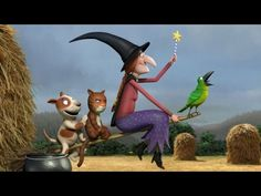 Room on the Broom | BBC | Animated Film | Childrens Story Book | - YouTube
