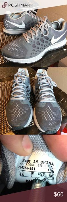 Nike iD zoom Pegasus shoes Size 9.5! Practically brand new. Nike iD zoom Pegasus shoes Nike Shoes Sneakers