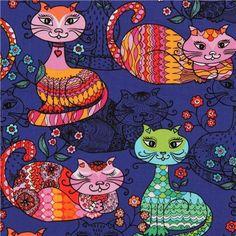 Animal fabric, owl fabic, elephant fabric, monkey fabric and more ...