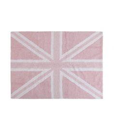 England Flag Baby Pink