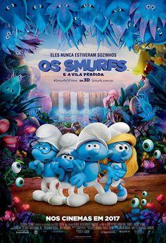 """""""Os Smurfs e a Vila Perdida"""": A animação é um achado"""