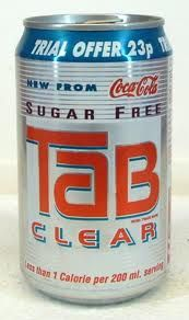 tab clear cola