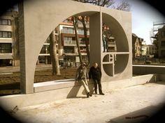 About the Fibonacci spiral (in Dutch) // Beaufort 2012 De Panne // Norbert Francis Attard - Boundaries of Infinity
