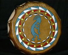 Sioux Hand Painted Drum