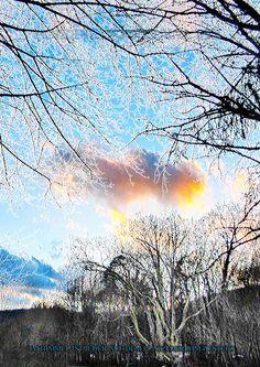 Im Himmel ist jeder an dem Platz, der ihm zusteht. Poster, Clouds, Outdoor, Heaven, Cards, Art, Photo Illustration, Outdoors, Outdoor Games