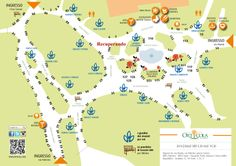 Orticola map and Recuperando location 2014 Eos