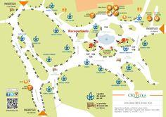 Orticola map and Recuperando location 2014