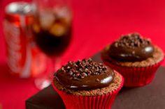Delícias do Dia-a-Dia: CUPCAKE  DE  CHOCOLATE  COM  COCA  COLA