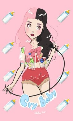 Melanie Martinez by HeHes Art by HeHesArt
