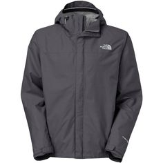 The North Face Men's Tall Venture Waterproof Rain Jacket (€105) ❤ liked on Polyvore featuring men's fashion, men's clothing, men's outerwear, men's jackets, asphalt grey, mens outerwear, mens jackets, mens grey jacket, mens tall jackets and mens waterproof jacket