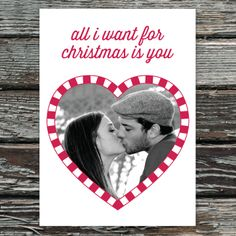 Who's the only one on YOUR Christmas wish list? #card #InkCards