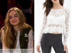 Girl Meets World: Season 2 Episode 17 Maya's Lace Ruffle Top