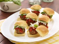 Neely's Meatball Sliders Recipe : Patrick and Gina Neely : Food Network - FoodNetwork.com