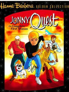 """Jonny Quest"" accompanies his father on extraordinary adventures. 1964-1965 TV series"