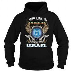 Azerbaijan-Israel - #coworker gift #creative gift. GET YOURS => https://www.sunfrog.com/LifeStyle/Azerbaijan-Israel-Black-Hoodie.html?60505