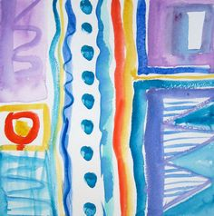 Signed Original Abstract Modern Watercolor Painting on Premium Acid Free Paper free ship to US Watercolor Paintings Abstract, Watercolor Paper, Abstract Art, Hand Painted Fabric, Fabric Painting, Beautiful Paintings, Art Prints, Free Paper, The Originals