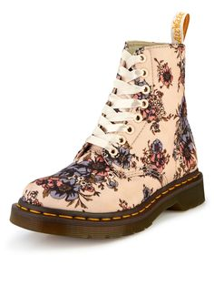 Dr Martens Becket Canvas Floral Boots | very.co.uk