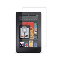 Marware Kindle Fire Clear Screen Protector 2-Pack with Cleaning Cloth - Lifetime Warranty
