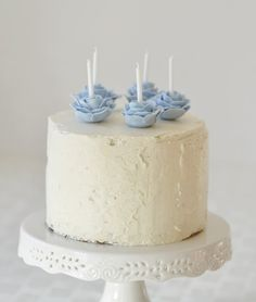 Earl Grey & Vanilla Bean Birthday Cake... I would LOVE this cake. Earl Grey is my favorite