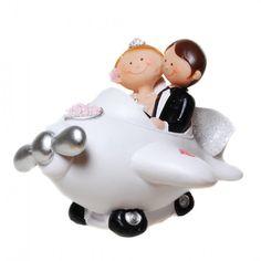 Tortenfigur Comic Flugzeug Piggy Bank, Comic, Newlyweds, Wedding Pie Table, Plane, Celebration, Money Box, Comic Strips, Savings Jar