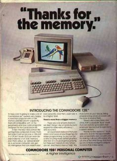 Commodore 128 My first computer.sold it to buy an Amiga by placing a ad in the paper. Retro Ads, Vintage Advertisements, Vintage Ads, Vintage Posters, Alter Computer, Home Computer, Vintage Videos, Retro Videos, Old Technology