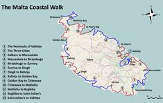 Map of Wallk