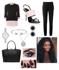 """""""Untitled #27"""" by simply-bree100 on Polyvore featuring Dorothy Perkins, Chloé, Giuseppe Zanotti, Witchery, Kate Spade, Bling Jewelry and Anne Sisteron"""