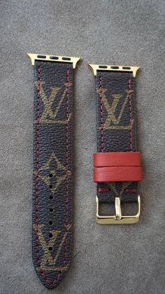 caa984214c8 Apple watch series 4 LV watch strap Apple watch straps Lv