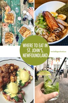 From classic fish and chips to fine dining, to modern late night small plates, St. John's restaurants shine in Canada's eastern most city! St John's Canada, Visit Canada, Montreal Canada, Alberta Canada, Canadian Travel, Canadian Food, Canadian Rockies, Newfoundland Canada, Newfoundland And Labrador