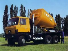 Tatra T815 AP 174 Mixer Truck, Eastern Europe, Motor Car, Techno, Transportation, Automobile, Van, Construction, Trucks
