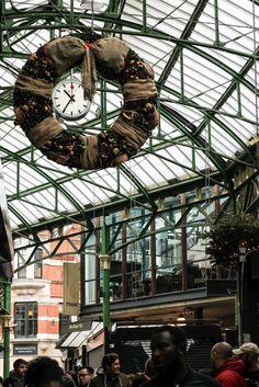 London Travel für Foodies: Borough Market.