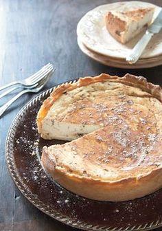 Sicilian Sweet Ricotta Pie, Italian food