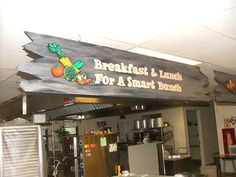 Love Your LunchRoom - The Artworks Shop - Wild Mustang Cafe #cafeterias #healthykids #nutritioneducation