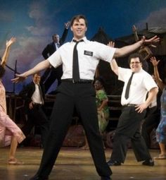 Book of Mormon, the play :) I want to see this sooo bad.