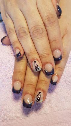 Unhas de acrílico com extensão!  Reiki Reiki, My Nails, Nail Designs, Nail Desings, Nail Design, Nail Organization, Nail Art Ideas