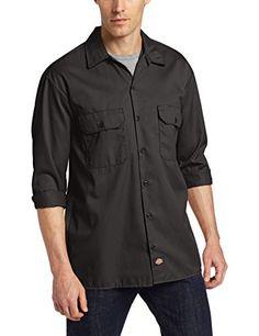 Dickies Men's Long Sleeve Work Shirt, Black, Small Dickies http://www.amazon.com/dp/B000N8Q0C6/ref=cm_sw_r_pi_dp_kmzswb11GT1M1