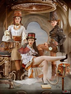 Steampunk Girl Costumes 50 Amazing Sexy Outfit Ideas
