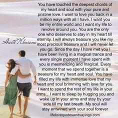 I love you I cant wait to see you I want it all....🙏💖😍🔥💫💏