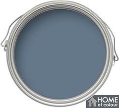 Home of Colour Feature Wall Blue Slate - Matt Emulsion Paint - 1L | Homebase