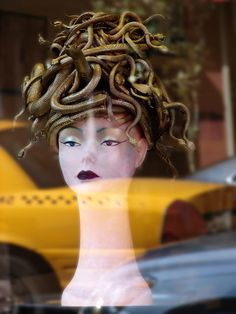 Beautiful Window Displays!: Halloween Window Displays  Buy mannequin heads at Mannequin Madness to re-create this look