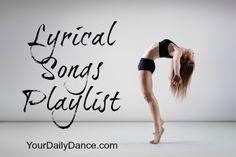 Lyrical Songs For Dancers...  #lyrical #dance #dancers