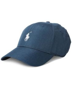545bd24f Men's Performance Cap $49.50 Made from lightweight canvas, this streamlined  cap from Polo Ralph Lauren