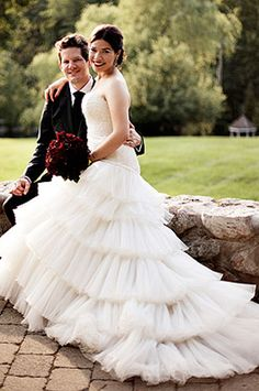 America Ferrera wearing Christos J'Adore